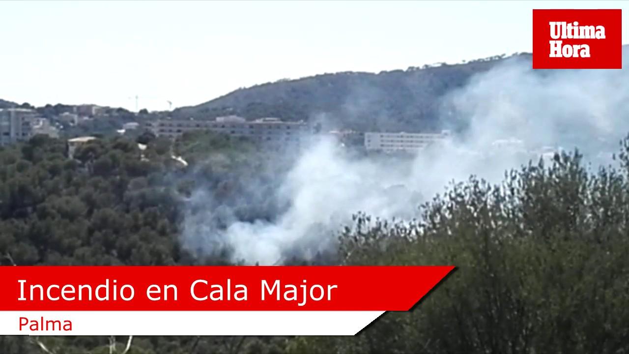 Incendio en Cala Major