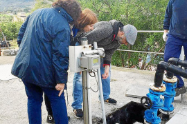 Los regantes de Sóller se quejan de la calidad del agua que reciben de la depuradora