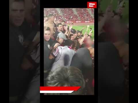 Detenido un 'ultra' del Mallorca tras agredir a un aficionado en el partido de ascenso