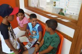 Niños saharauis acogidos por familias de Baleares