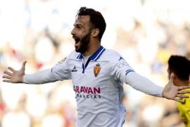 Guitián, jugador del Zaragoza, operado de urgencia en Mallorca