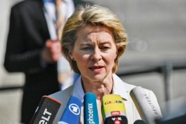 La ministra de Defensa alemana ocupará la presidencia Europea y Borrell la jefatura de diplomacia
