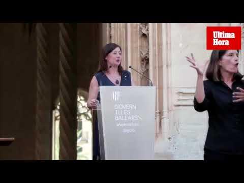 Armengol, en la toma de posesión de los nuevos consellers: «Venimos a hacer política en mayúsculas»