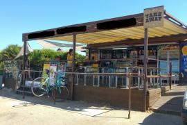 Paralizan la actividad del chiringuito del mirador del Colomer en Formentor