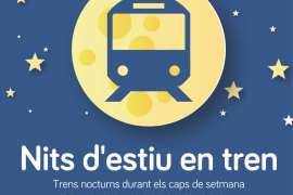 El tren nocturno de verano empieza a funcionar este viernes en Mallorca
