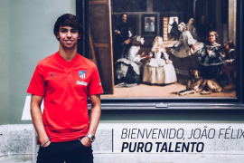 El Atlético de Madrid ficha a Joao Félix por 126 millones