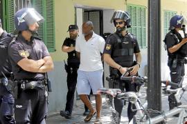 Diez detenidos en un operación antidroga en Son Gotleu, La Vileta y 'El Hoyo'