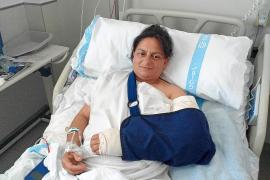 La mujer tiroteada en Montuïri: «Faltó muy poco para que el disparo me matara»