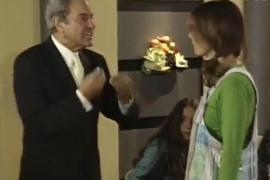 Así se conocieron Arturo Fernández y Pablo Iglesias