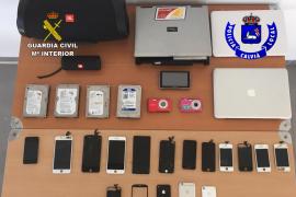 Detenido un hombre por cometer al menos 15 robos en comercios de Calvià