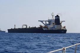 El superpetrolero 'Grace 1' transportaba petróleo crudo hacia Siria