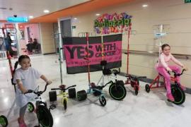 Triciclos solidarios para los niños que reciben quimioterapia en Mallorca