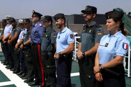 Policías de Italia, Francia y Alemania refuerzan la seguridad turística en Mallorca