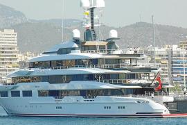 El megayate más moderno del mundo, en Palma