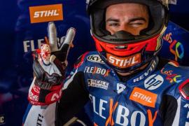 Augusto Fernández, quinto en la parrilla de Moto2 de Alemania