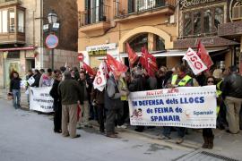 Los 238 empleados de Spanair en Palma cobrarán 20 días por año