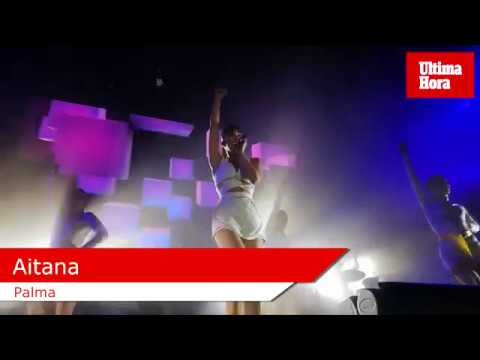 Aitana, la revelación pop del año, cita a más de 3.000 personas en Palma