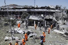 Al menos 12 muertos y 179 heridos en un atentado con coche bomba en Afganistán