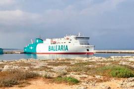 Baleària incorpora a las rutas con Menorca un buque a gas natural y un ferry más ecoeficiente