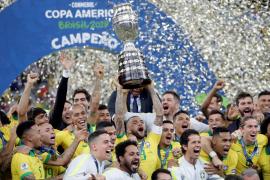 El Brasil más práctico se corona en casa