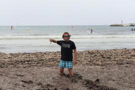 Vox denuncia el «lodazal» de la playa de Sa Ràpita