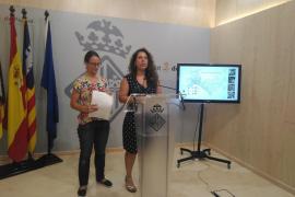 Los titulares de los huertos urbanos de Palma podrán cuidarlos junto a sus hijos y nietos