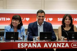 La dirección del PSOE aprueba por unanimidad que Sánchez forme un Gobierno sin Podemos