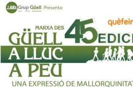 Vuelve la Marxa des Güell a LLuc a Peu, una nueva edición de lo más 'ecofriendly'