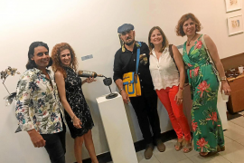 Exposición escultórica en la galería Pascual de Cabo