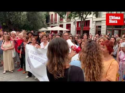 Clamor en Mallorca contra las agresiones sexuales tras la violación en Cala Rajada