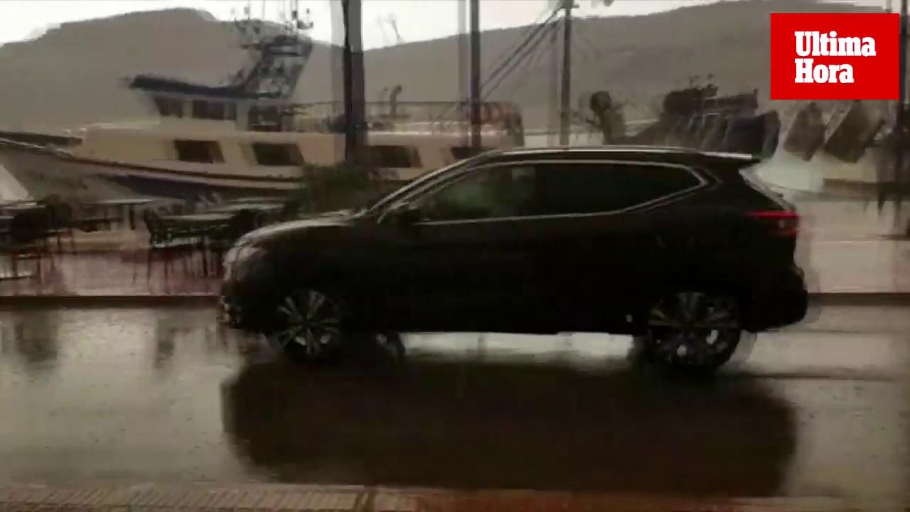 Repentinos chubascos y tormenta eléctrica en Mallorca