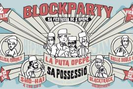 Sa Possessió al más puro estilo rap con La BlockParty