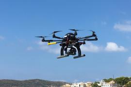 El Gobierno usará drones para controlar la contaminación de los cruceros en puertos como el de Palma