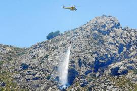 Intensa jornada de incendios en Mallorca