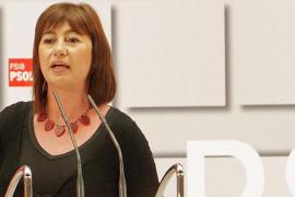 Armengol: «El PP ganó las elecciones diciendo que no subiría impuestos»