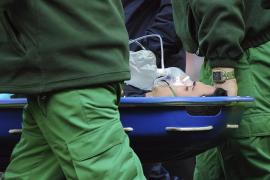 Arteta viaja de vuelta con el Arsenal tras ser examinado en un hospital