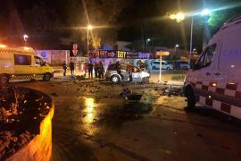 Muere un joven en un accidente de tráfico en la Playa de Muro