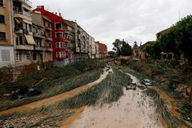 «La naturaleza ha disparado el agua a cañonazos» en Tafalla