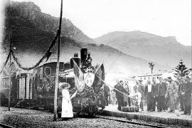 El Tren de Sóller inicia los actos de su centenario con una exposición histórica