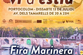 Doble festividad en Portocolom con Els Vins de l'Estiu y la Fira Marinera