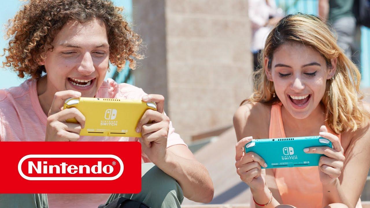 Todo a punto para el lanzamiento en septiembre de la Nintendo Switch Lite