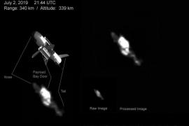Un telescopio de un aficionado capta el avión espacial secreto de Estados Unidos