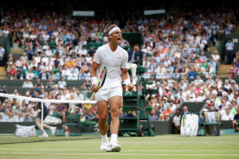 Nadal pasa a semifinales de Wimbledon y se enfrentará a Federer