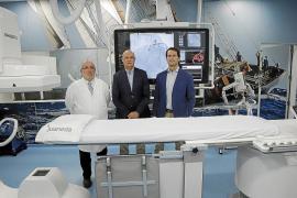 Juaneda estrena última tecnología para la colocación de 'stents'