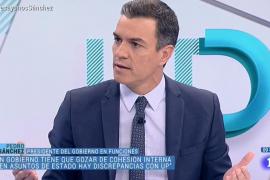 Pedro Sánchez dice que las diferencias sobre Cataluña impiden la coalición con Podemos