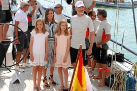 Las vacaciones más imprevisibles de los Reyes en Mallorca
