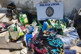 Detenido en Sant Antoni con varias dosis de cocaína, MDMA, marihuana y gas de la risa