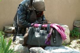 Un 'sin techo' recupera 615 € perdidos que iba a mandar a su familia