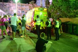 Un hombre drogado provoca un violento incidente en Magaluf