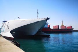 Comunicado de Baleària sobre el accidente de los dos buques